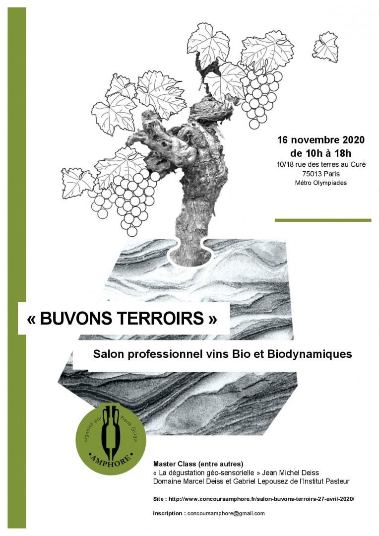 Buvons Terroirs - Vins bio et biodynamique