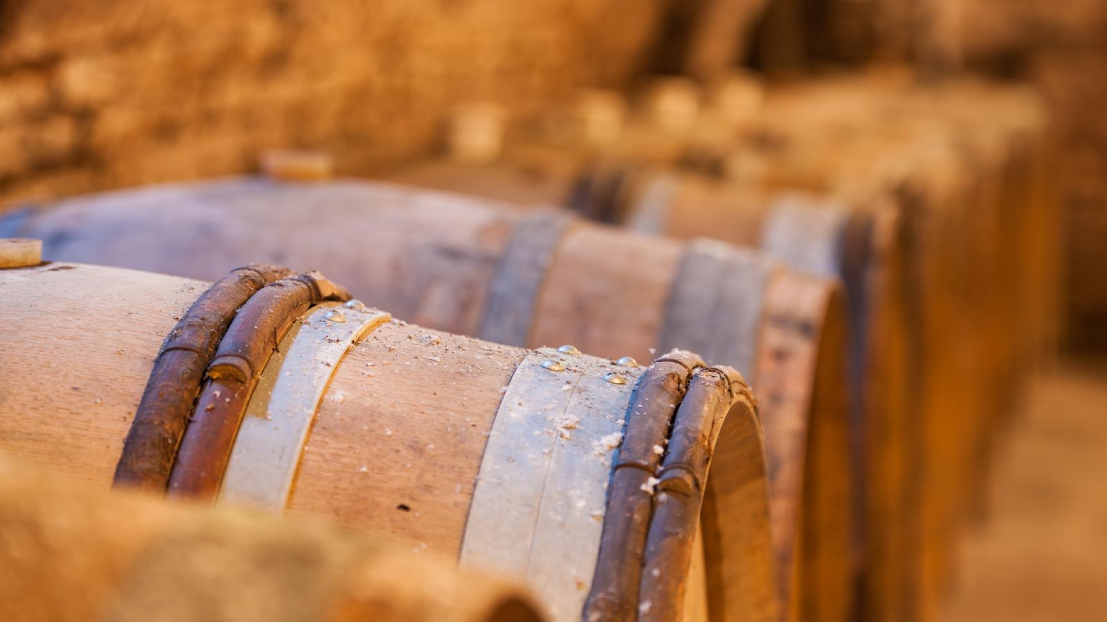 Tonneaux de vin